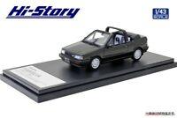 Hi Story 1/43 Mazda FAMILIA CABRIOLET (1986) Sparkling Black M Finished Product