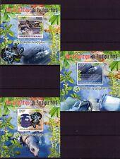 BURUNDI 2012 MER DE PLASTIQUE DU PACIFIQUE nORD POLLUTION ECO STAMPS DELUX MNH**