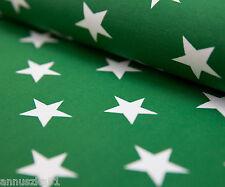 Jersey Stoff Sterne Grün Dunkel Baumwolle Herbst Stars Kinderjerseystoff
