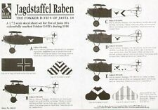 Blue Rider 1/72 Fokker D.VII. 5 Colourful D.VIIs of Jasta 18 1918 # 232
