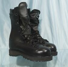 "New US Made 10"" MATTERHORN Black Leather Steel Toe Gore-Tex Combat Boots Sz 5M"