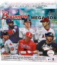 2018 Bowman Mega Box (175 sealed box lot) Hot!