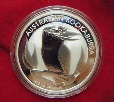 2012 Australia Kookaburra 1oz Silver Brilliant Uncirculated Coin, Perth Mint