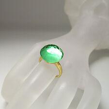 Labriola Ring mit syth. Turmalin Stein in 750/18K Gelbgold UVP. 450.-€ Gr. 57