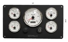 3126 Caterpillar Marine Engine Instruments Panel, Fully Wired 100% USA Made