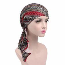Women Cancer Hat Chemo Cap Muslim Hair Loss Head Scarf Turban Head Wrap Cover