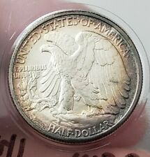 1941-P MS Walking Liberty Half Dollar Toned US COIN Silver 50C