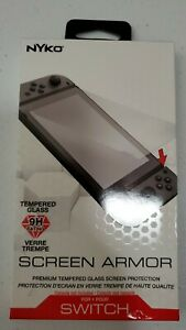Nyko Screen Armor Premium Tempered Glass Screen Protection for Nintendo Switch