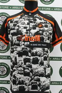 maglia ciclismo bike CINELLI CASTELLI TG M H117 shirt maillot trikot jersey