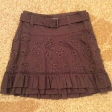 United Colors of Benetton Girls skirt with belt. Size S/6. 100% cotton