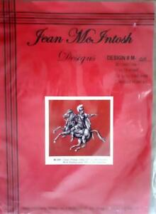 JEAN McINTOSH Needlework Chart #M-205 MARCELLUS THE ROMAN HORSEMAN