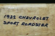 "DANBURY MINT Collectible ""1932 CHEVROLET SPORT ROADSTER"" CAR, NOS,   S-4"