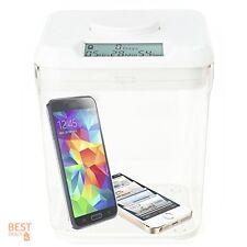 Smart Lock Box Kitchen Safe Time Locking Storage Electronic Keyless Auto Digital
