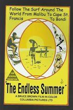 THE ENDLESS SUMMER Australia Poster Car Sticker Decal Surfboard Rat Fink Surfing