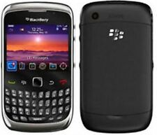 BLACK BLACKBERRY 9300 3G MOBILE PHONE - UNLOCKED WITH NEW USB LEAD AND WARRANTY.
