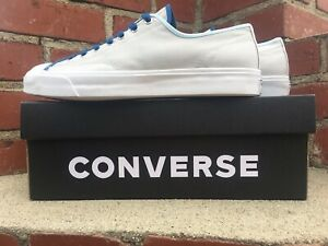 Converse Jack Purcell Gray Pale Putty Ox Sneaker 167621C Men Size 10 Women 11.5