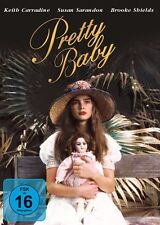 PRETTY BABY (1978 Brooke Shields) - DVD - PAL  Region 2 - New