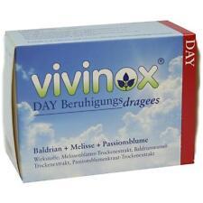 VIVINOX Day Beruhigungs Dragees  Bald. Mel.+ Passionsbl.  100 st     PZN 1126950