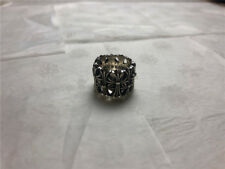 CHROME HEARTS PREOWNED CROSS LOTS CLASSIC RING JP20US10 RUNWAY DESIGNER FASHION