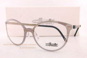 New Silhouette Eyeglass Frames Infinity View 1594 8640 Champagne Jungle Women