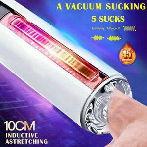 Automatic HandsFree Male Masturbater Cup HEATING Sex Machine Blowjob Sucking US