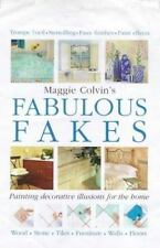 Fabulous Fakes by Maggie Colvin, Hardcover, Decorative Painting, Walls, Floors