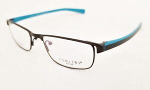KONISHI KF 8484 Flex Titanium eyeglasses Frame Matte Black MEN 51mm