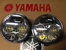 96-05 YAMAHA KODIAK 400 & 450 LED HEADLIGHTS CONVERSION KIT- PAIR! USA -4X4