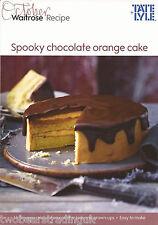 Recipe Card: Spooky Chocolate Orange Cake (Waitrose)