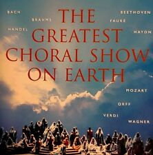 "The Greatest Choral Show on Earth (2 CD, 1999, Decca)""LIKE NEW"""