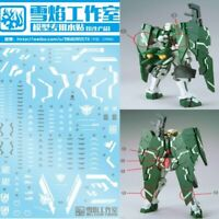 WaterSlide Decal Sticker Set For Bandai MG 1/100 GN-002 Gundam Dynames Model Kit