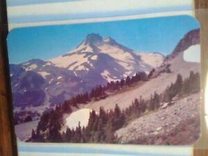 BEAUTIFUL PHOTO POST CARD MT.JEFFERSON OREGON..