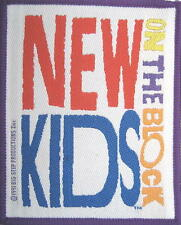 NEW KIDS ON THE BLOCK AUFNÄHER / PATCH # 7 - 10x8 cm - VINTAGE 1991