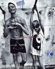 "Die Antwoord duo band Reprint Signed 8x10"" Photo #1 RP Yolandi Visser & Ninja"