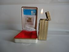VINTAGE GAS CIGARETTE LIGHTER ''WIN-DELUXE''with ORIGINAL BOX - JAPAN