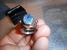 Nicky Butler Sterling Silver Druzy Quarts Designer Ring Size 9 1/2