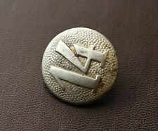 Original WW2 Relic German Army Shoulder Board Button 14 Regiment ( Kurland )