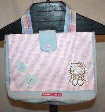 Sanrio Hello Kitty Pink & Blue Handbag Purse Tote Super Cute With FREE Shipping!