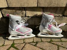 Bladerunner Ice by Rollerblade Women's Adult Ice Skates, White and Blue Size 4-7
