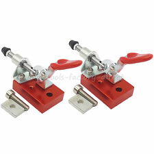 2pcs Cnc Work Table Clamp Engraver Fastening Platen Router Fixture Fixture Plate