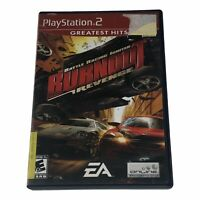 Burnout: Revenge (Sony PlayStation 2, 2005) Complete w/Manual CIB