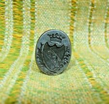 Antique 18th Century French Nobility Steel Ducal Sealing Wax Stamp Seal
