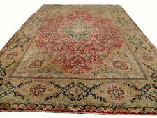 Antique & Original Tapis Persan Kerman 1920  Fait Main 373 x 268