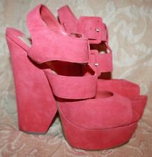 High (3 in. and Up) Suede Clubwear Platforms & Wedges Heels for Women