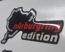 Nurburgring Edition Circuit Sticker/Decal Emblem Badge DOMED GEL Corsa Astra VXR