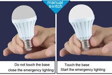 Bulb LED Magic Emergency Light With Finger Or Water Flashlight Wireless 12W 4pcs