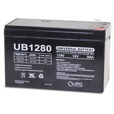 UPG 12V 8Ah SLA Battery Replacement for APC Smart-UPS 750 UB1270