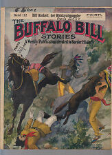 Buffalo Bill 112 original 1930 número de alta Gustav audaz Verlag