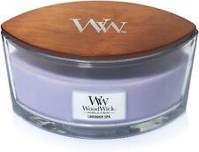 Woodwick Ellipse Lavender Spa Lavender Scented Candle With Wick Scoppiettan