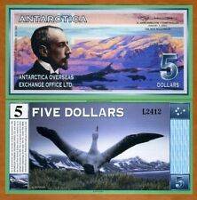 Antarctica, $5, January 1, 2001, UNC --> Amundsen